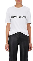 "Prabal Gurung Women's ""Love Is Love"" T-Shirt"