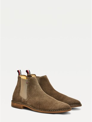 Tommy Hilfiger Suede Chelsea Boot