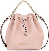 Karl Lagerfeld Quartz Bucket Bag