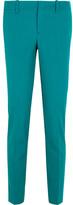 Gucci Wool-blend Straight-leg Pants - Teal