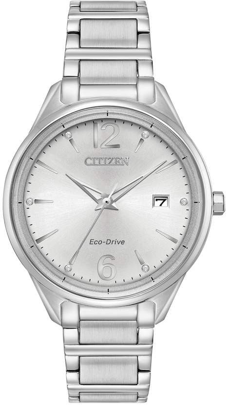 Citizen Eco-Drive Women's Chandler Crystal Stainless Steel Watch - FE6100-59A