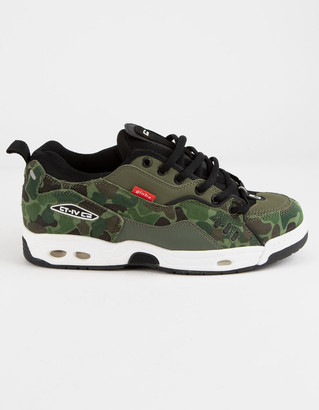 Globe CT-IV Classic Green Camo & White Womens Shoes