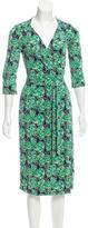 Diane von Furstenberg Silk Tara Dress
