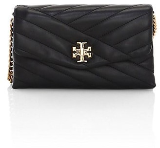 Tory Burch Kira Chevron Leather Wallet-On-Chain