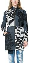 Desigual womens ABRIG_MEREDITH Coat Meredith Long Sleeve Coat