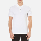 Belstaff Men's Granard Short Sleeve Polo Shirt White