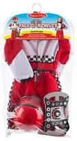 Melissa & Doug Race Car Driver Dress Up Costume