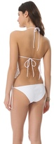 Thayer Lace Up One Piece Swimsuit