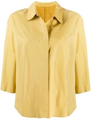 Salvatore Santoro Stitched Shirt Jacket