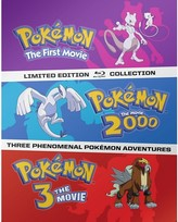 Pokemon Movies 1-3 [Blu-ray]