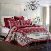 Dosha Reversible Full/Queen Quilt Set in Ruby