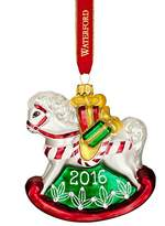 Waterford Nostalgic Baby's First Rocking Horse Ornament