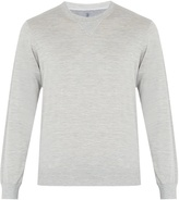 Brunello Cucinelli Crew-neck silk and cotton-blend sweater