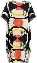 Henrik Vibskov geometric patterned shift dress