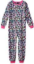 Girls 4-16 Jelli Fish Pattern One-Piece Pajamas