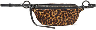 Rebecca Minkoff Bree Leopard-print Calf Hair Belt Bag