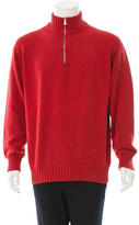 Loro Piana Pullover Half-Zip Sweater