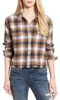 Obey Women's Cassius Crop Flannel Shirt
