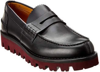 Valentino Leather Loafer