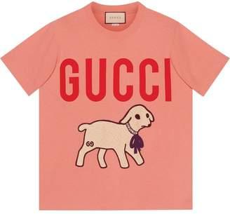 Gucci T-shirt with lamb