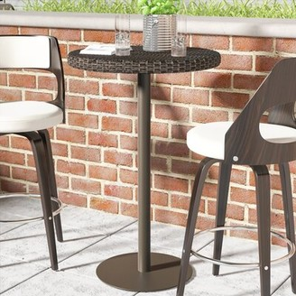 Ivy Bronx Erastus Wicker/Rattan Bar Table