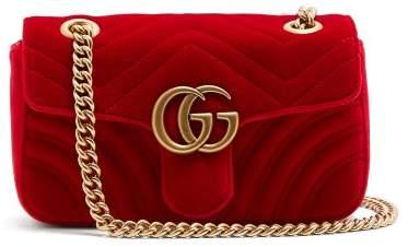 90620866d3cb2 Gucci Bags Velvet - ShopStyle