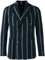 Tagliatore striped blazer - men - Cotton/Polyamide/Cupro - 50