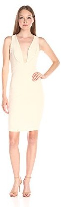Ark & Co Women's Jacquard Knit Deep Knew Dart Detail Dress