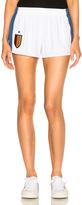 Stella McCartney Stretch Cady Shorts in White.