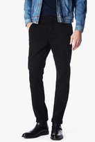 7 For All Mankind Luxe Performance Sateen The Chino In Black
