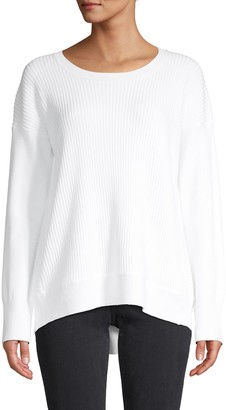 French Connection Ribbed Long-Sleeve Sweater