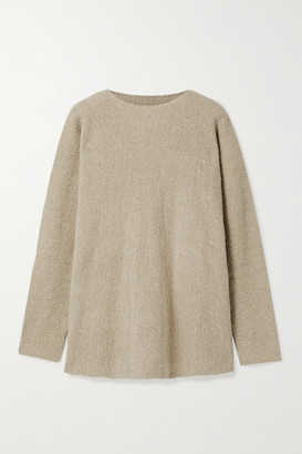 LAUREN MANOOGIAN Pima Cotton-blend Sweater - Mushroom