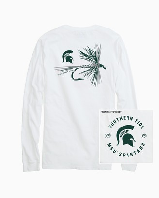 Southern Tide Michigan Spartans Fly Long Sleeve T-Shirt