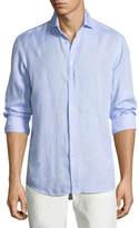 Ralph Lauren Solid Linen Sport Shirt