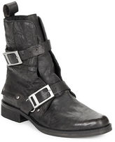 Free People Outsider Leather Ankle Boots