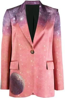 Pinko space print blazer