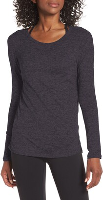 Zella Liana Long Sleeve Recycled Blend Performance T-Shirt