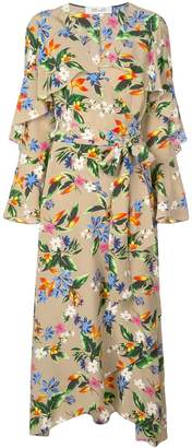 Diane von Furstenberg Alice floral print dress