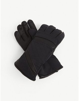 Toni Sailer Alek leather ski gloves