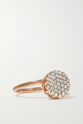 Selim Mouzannar Beirut Basic 18-karat Rose Gold Diamond Ring