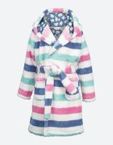 Fat Face Stripe Sheep Dressing Gown