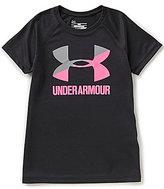 Under Armour Big Girls 7-16 Big Logo Short-Sleeve Tee