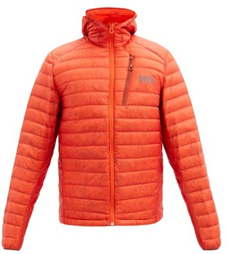 Helly Hansen Odin Hooded Quilted Down Jacket - Orange