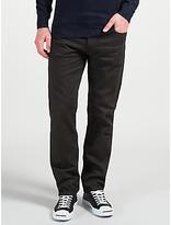 Gant Regular Straight Jeans, Black Raw