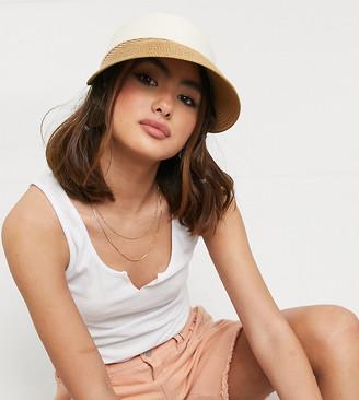South Beach visor in straw