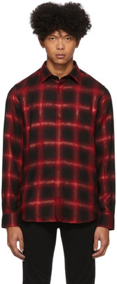 Diesel Black and Red Marlene-C Shirt