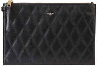 Givenchy GV3 Quilted Clutch Bag