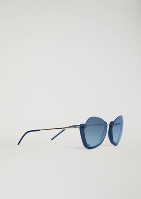 Emporio Armani Sunglasses With Half Frame