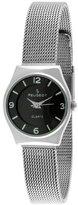 Peugeot Women's 7012S Stainless Steel Mesh Bracelet Watch