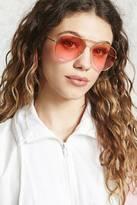 Forever 21 FOREVER 21+ Ombre Aviator Sunglasses